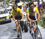 LeMond & Hinault in 1986