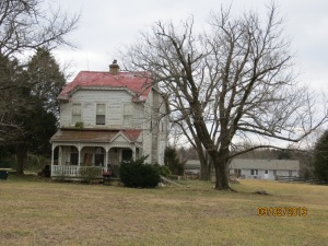 A home from a bygone era, near Nokesville.