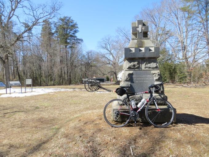 Monument to Union General Sedgwick, Spotsylvania Battlefield