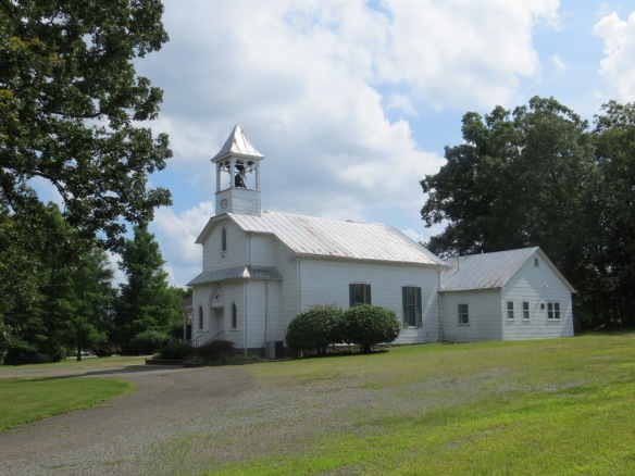 Trinity United Methodist Church, Catlett.  A nice country church.