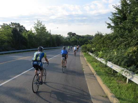 People!  Just east of Occoquan (Mile 3)