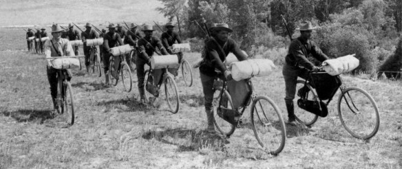 The 25th Bicycle Infantry, Departing Ft. Missoula, MT