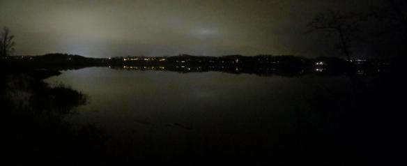 Creek At Night