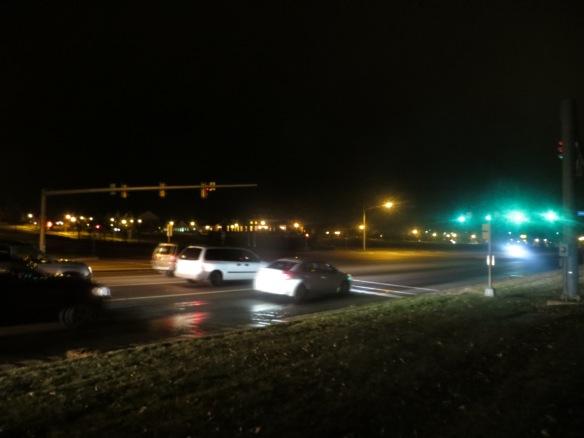 Route 1, near Cardinal Drive